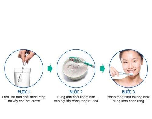 Tìm hiểu cách dùng và lưu ý khi sử dụng bột tẩy trắng eucryl 2