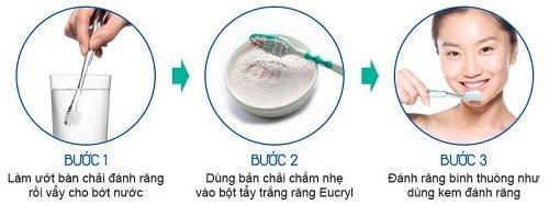Bột tẩy trắng răng eucryl có tốt không? Chuyên gia giải đáp 2